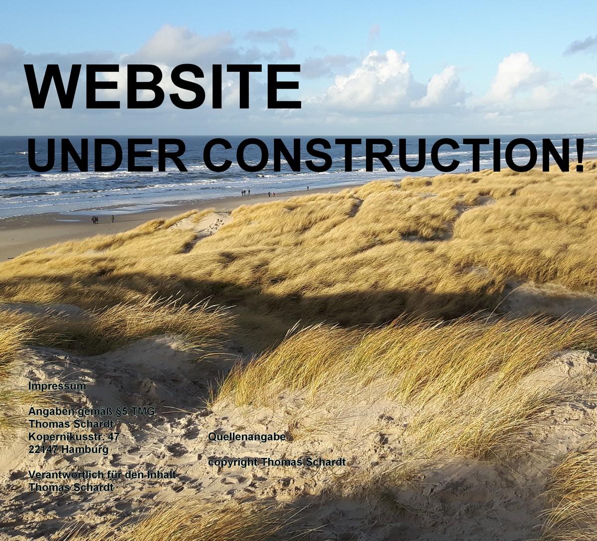UNDER CONSTRUCTION / Seite wird bearbeitet / mail: thomas@familie-schardt.de